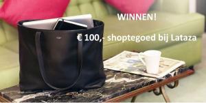Win 100 euro shoptegoed bij Lataza
