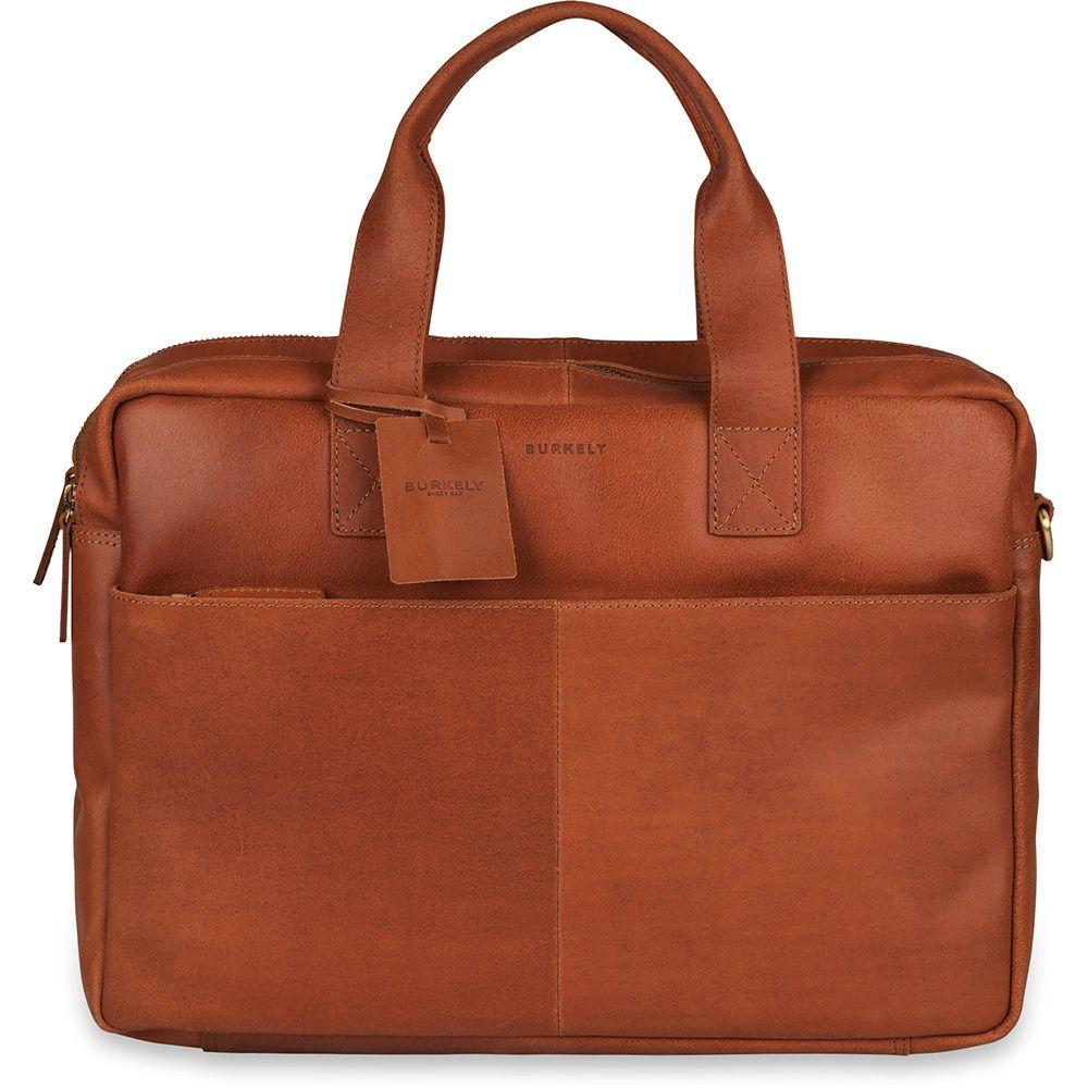 Laptoptas Burkely Jesse Vintage Shoulderbag Cognac 13 inch