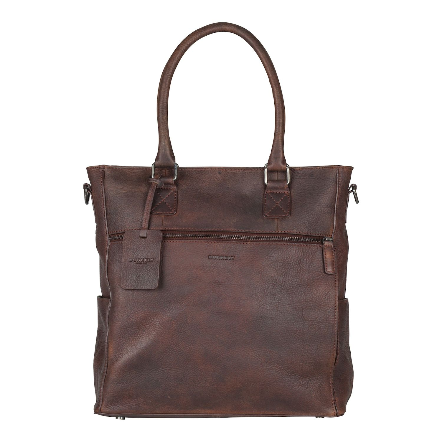 Burkely Antique Avery Shopper Brown 13.3 inch