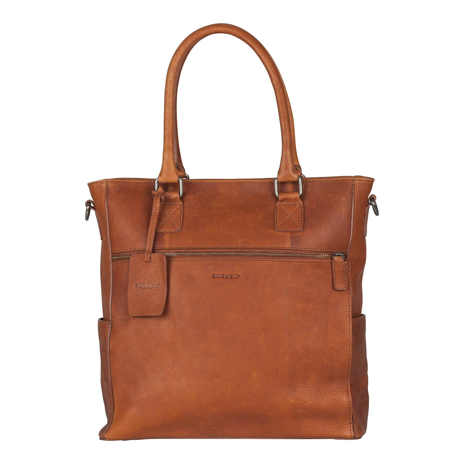 Burkely Antique Avery Shopper Cognac 13.3 inch