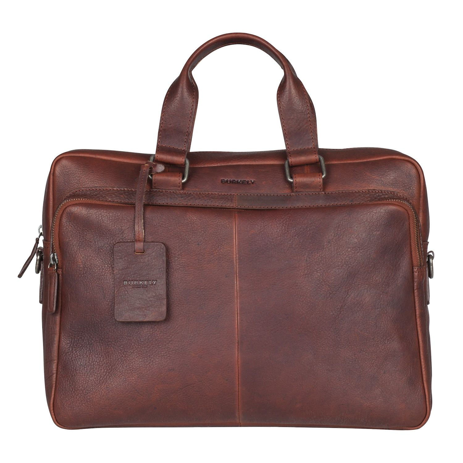 Burkely Antique Avery Workbag Brown 15.6 inch