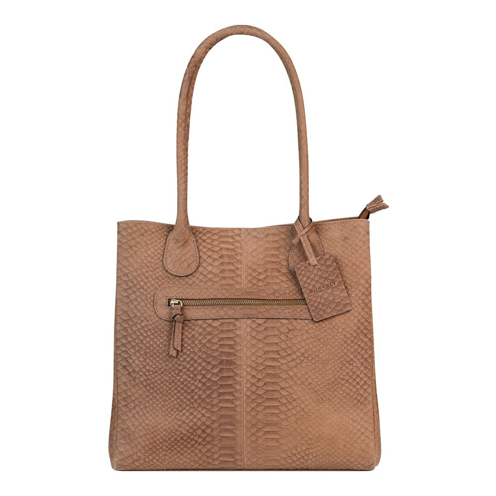 Burkely Eager Els Shopper 2-Zip Taupe