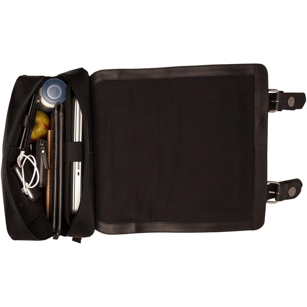 Burkely Leren Laptop Rugzak 14 inch On The Move Zwart