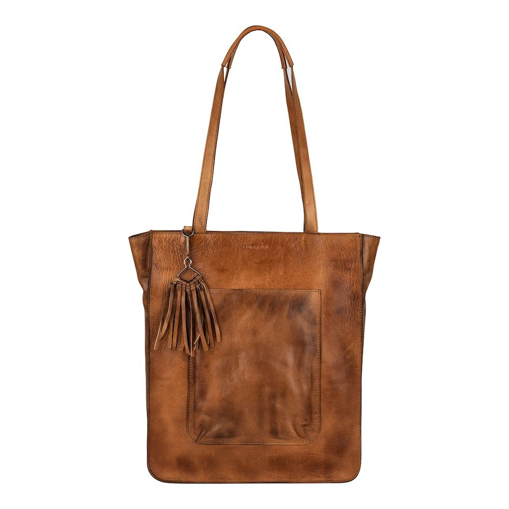 Burkely Noble Nova Shopper Cognac 12 inch