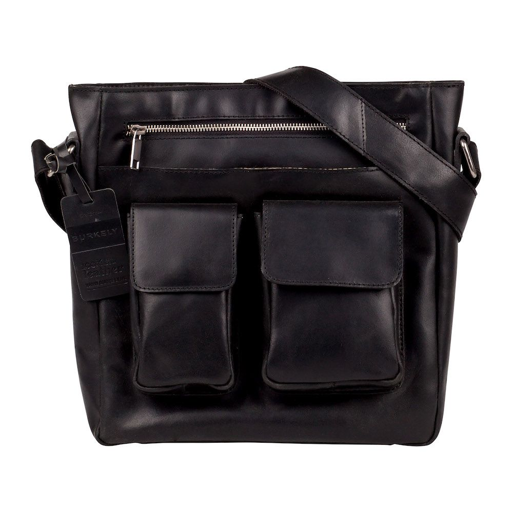 Burkely Vintage Beau Cross Over Shoulderbag Black