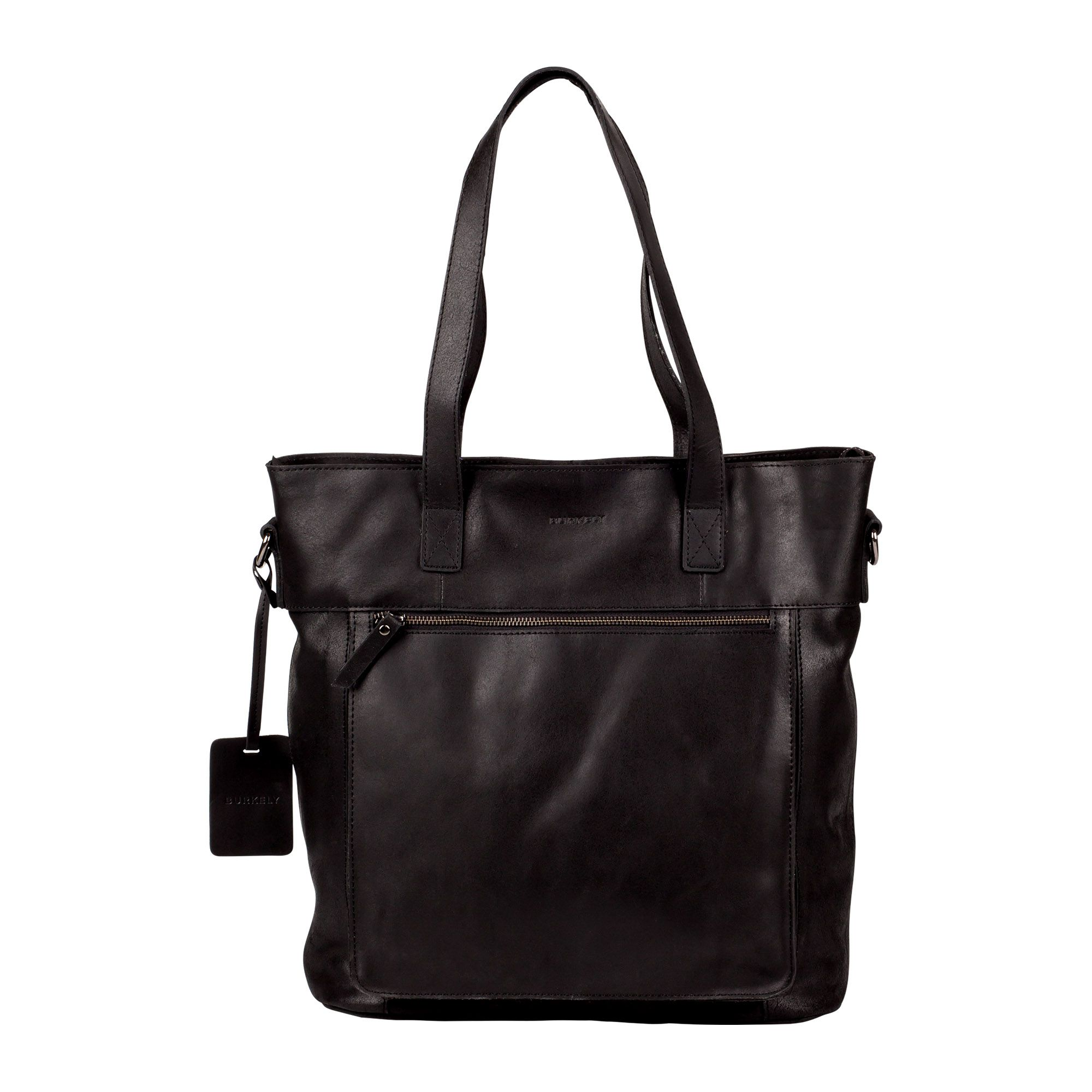 Laptoptas Burkely Jade Vintage Shopper Black 12 inch