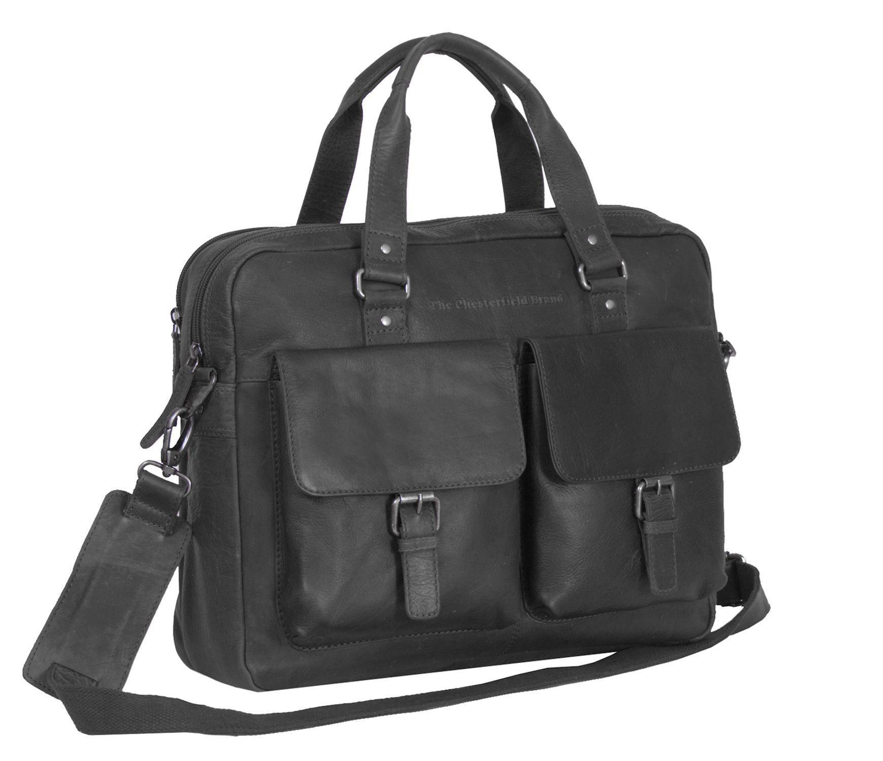 Chesterfield Dylan Businessbag Black 17 inch