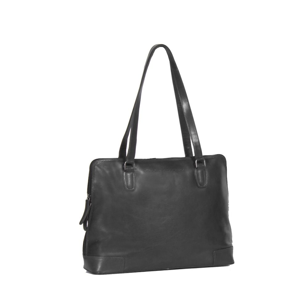 Chesterfield Flint Shoulderbag Large Black