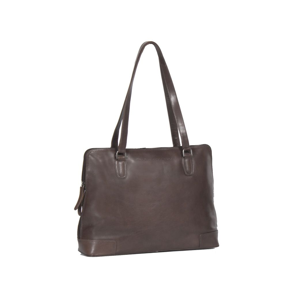 Chesterfield Flint Shoulderbag Large Brown
