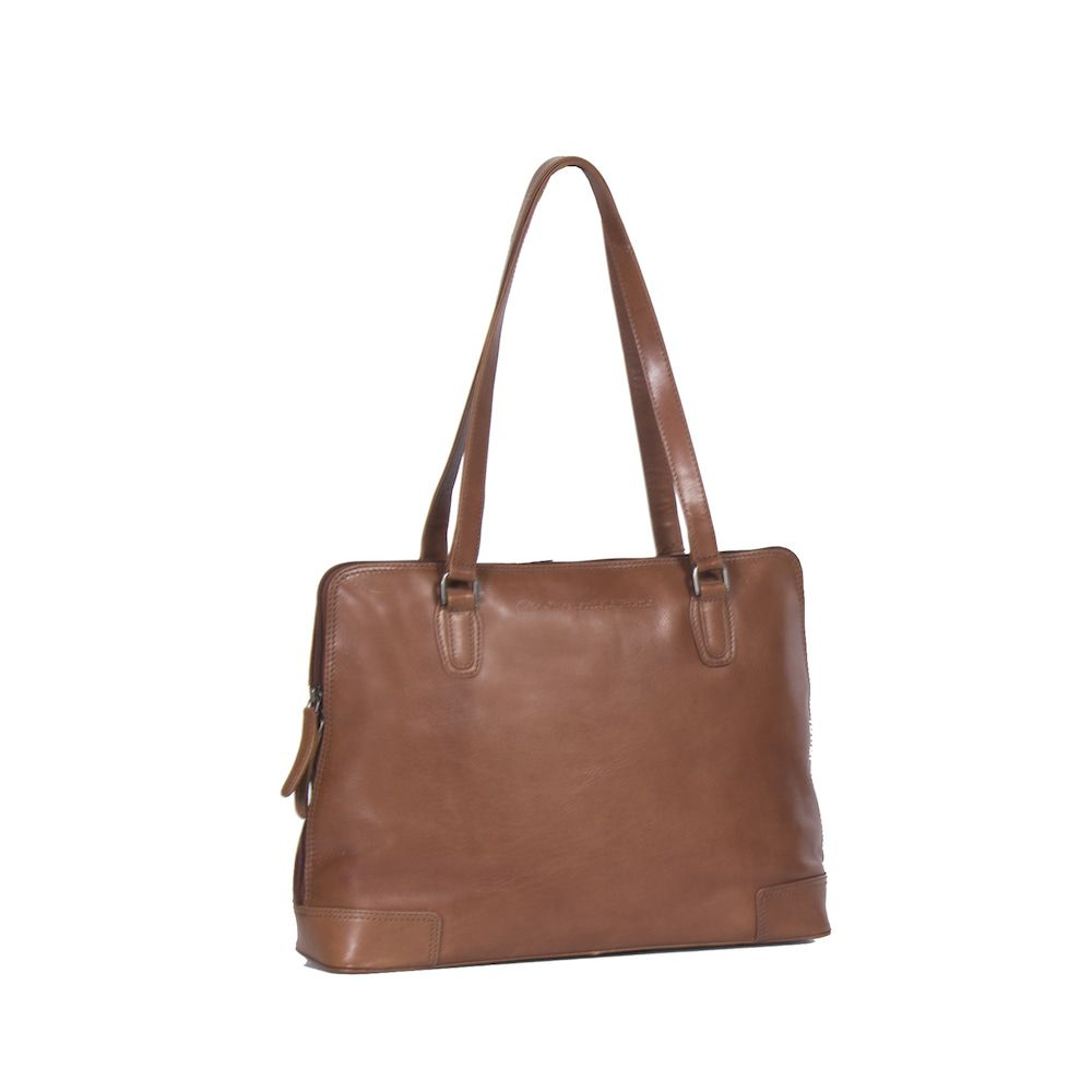 Chesterfield Flint Shoulderbag Large Cognac