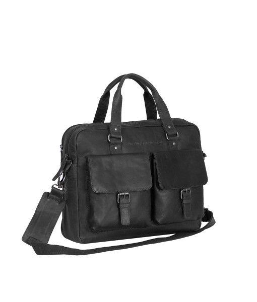Laptoptas Chesterfield George Businessbag Black 15.6 inch