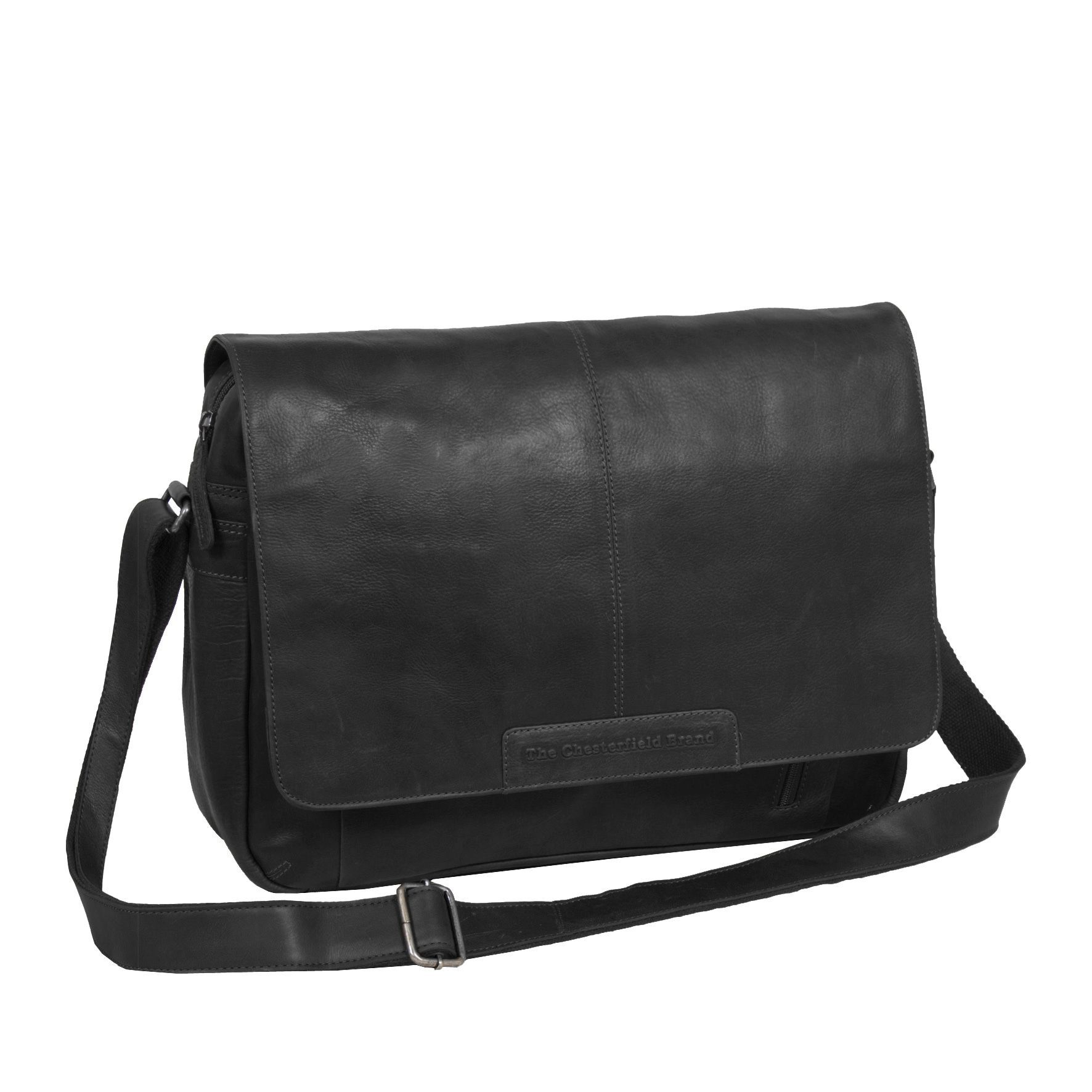 Chesterfield George Casual Messenger Black 15.6 inch