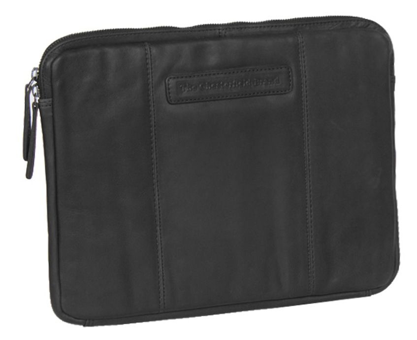 Chesterfield Richard Leather Sleeve Black 13.3 inch
