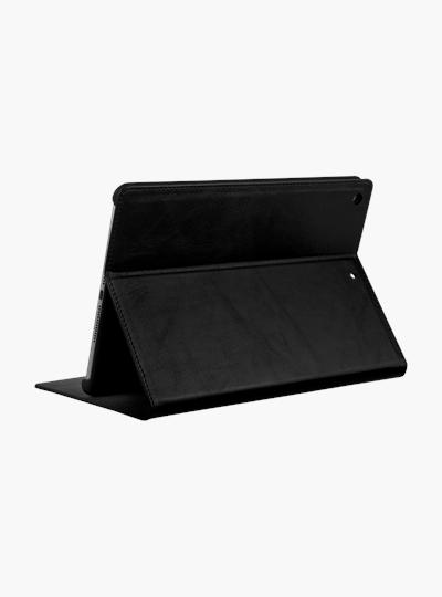 iPad case dbramante1928 Copenhagen 2 Leather Folio Case iPad Pro 10.2 inch Zwart