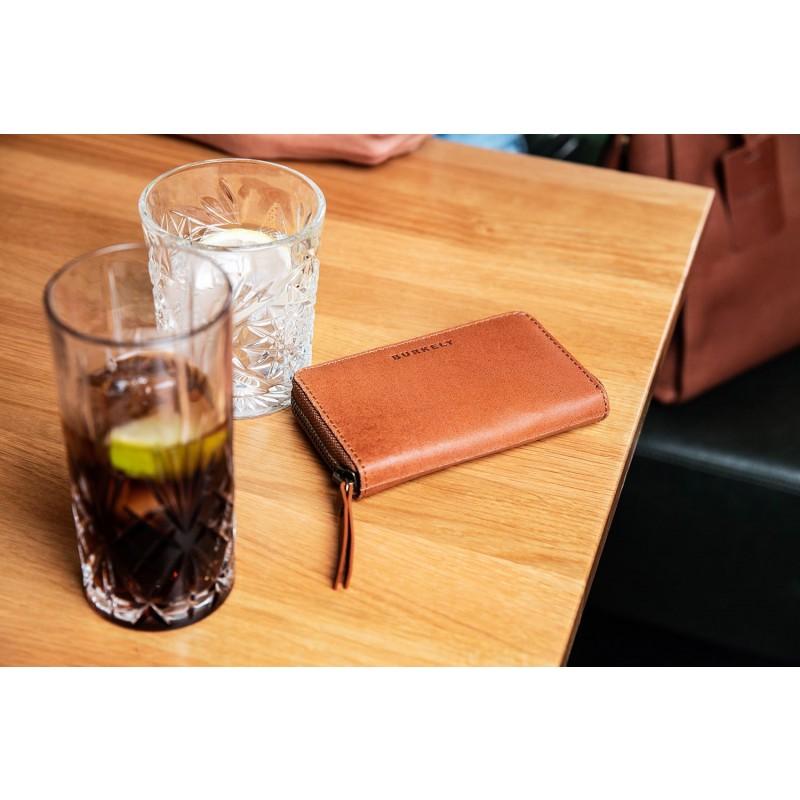 ef5387f6049 Burkely Leren Portemonnee Fundamentals Vintage Jamie M Cognac Lifestyle