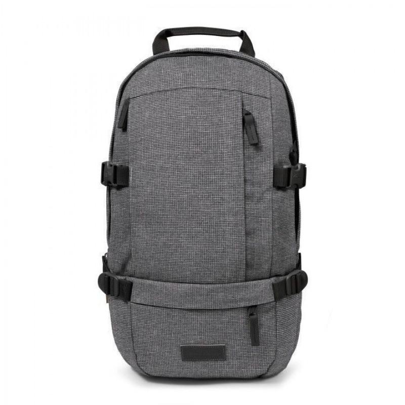 6135ddb0a5a Eastpak Laptop Rugzak 15.6 inch Floid Ash Blend Grijs Voorkant