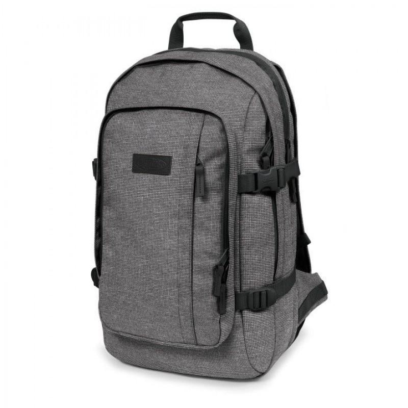 d384d88879a Eastpak Laptop Rugzak 17 inch Evanz Ash Blend Grijs Voorkant