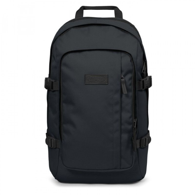 caa4d0d5ed8 Eastpak Laptop Rugzak 17 inch Evanz Zwart Voorkant