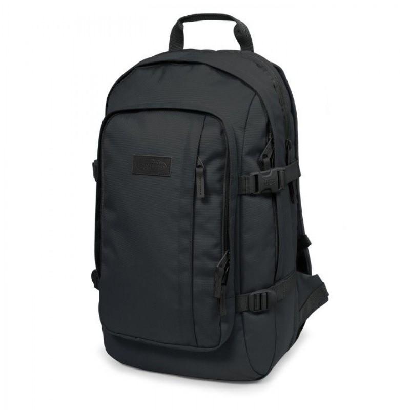 ef962f55178 Eastpak Laptop Rugzak 17 inch Evanz Zwart Voorkant