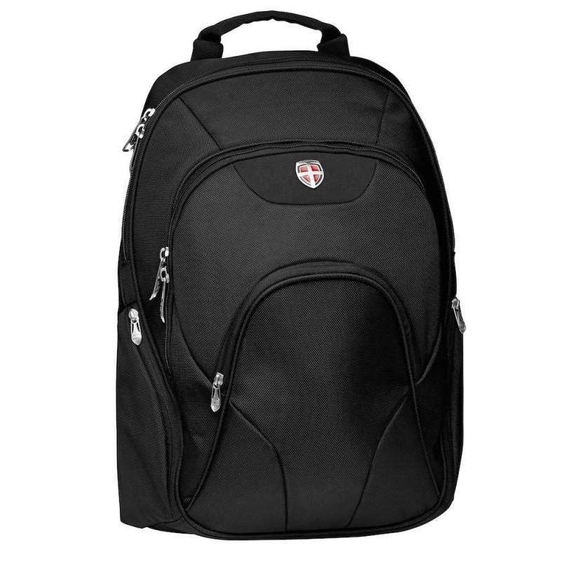 Inch Deluxe 17 Backpack Ellehammer Black OX8P0wkn