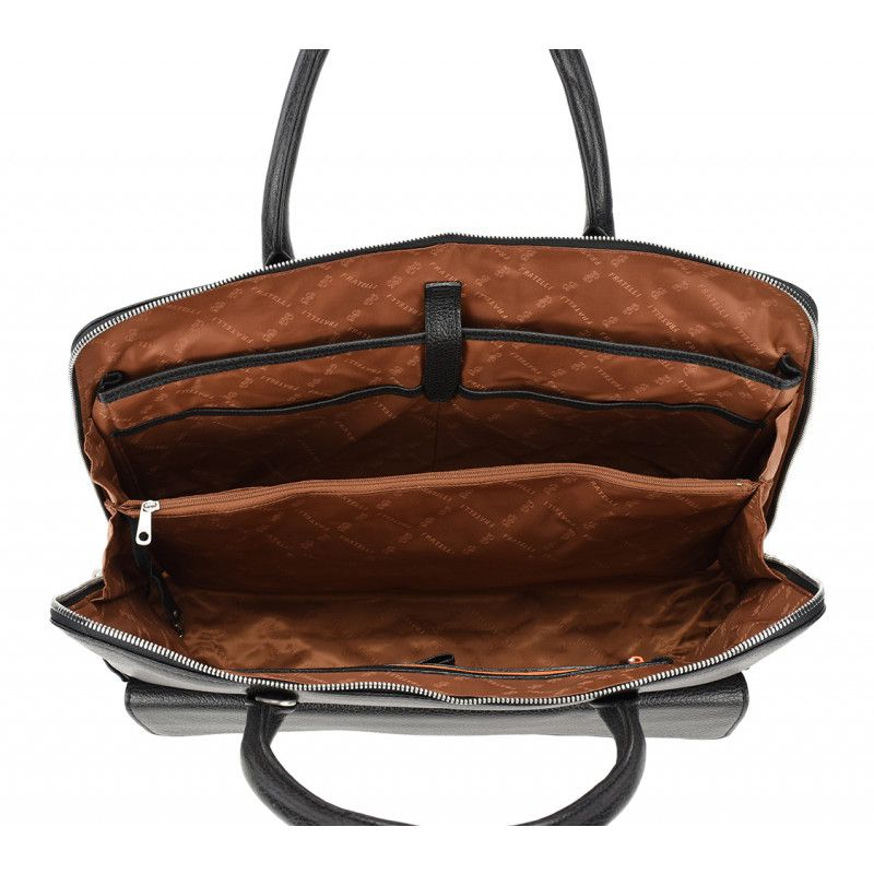 47ee1c23084 Gigi Fratelli Dames Leren Laptoptas 15.6 inch Romance Business ROM8014  Brandy