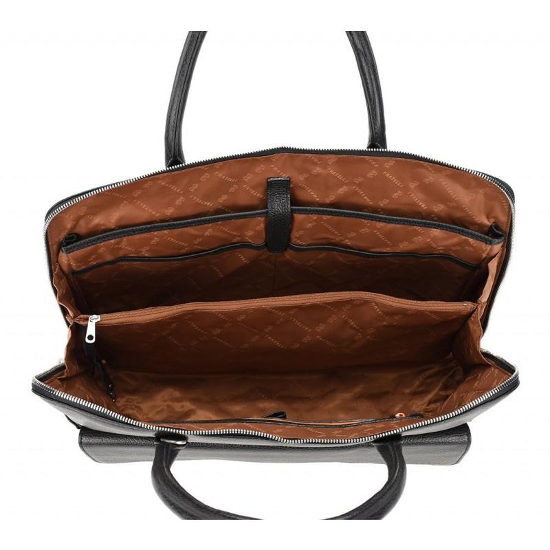 f8e03ab80cd Gigi Fratelli Dames Leren Laptoptas 15.6 inch Romance Business ROM8014 Rood