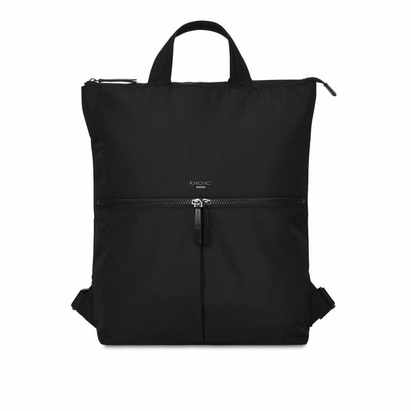 Knomo Dames Laptop Tote Rugzak 15 inch Dalston Reykjavik Zwart