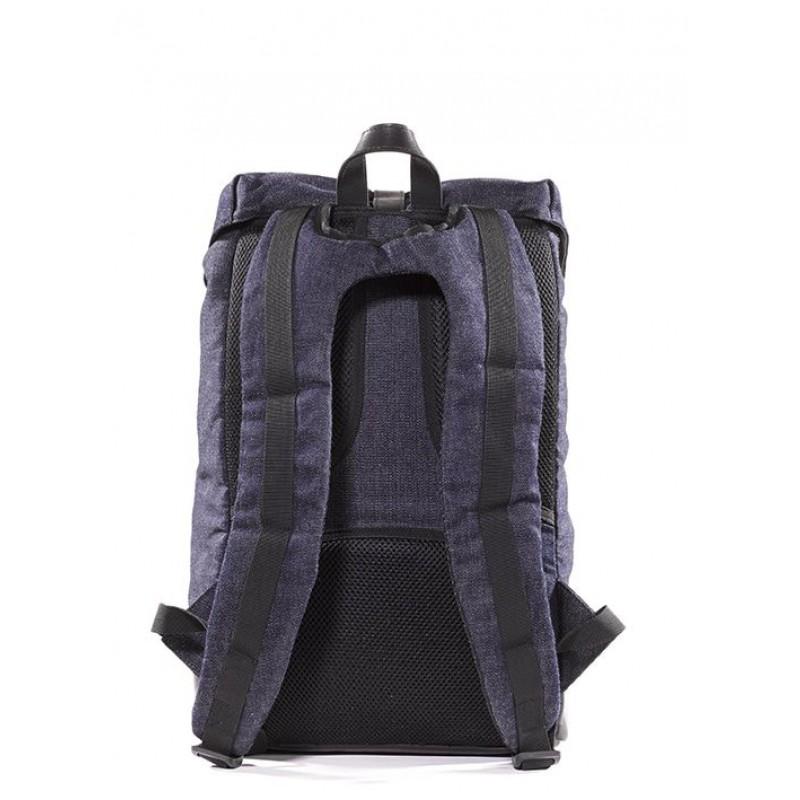 5ec89ce7101 Laptop rugtas Decoded Denim Backpack 15 inch Achterkant