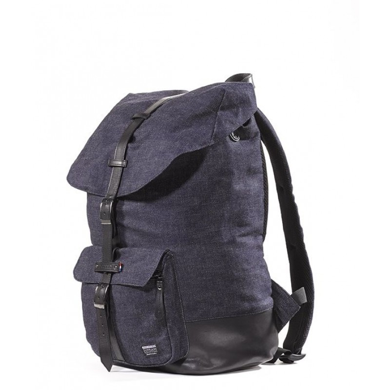 a825d149e8e Laptop rugtas Decoded Denim Backpack 15 inch Voorkant