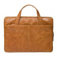 dbramante1928 Silkeborg Leather Sleeve Tan 13 inch Achterkant