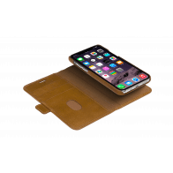dbramante1928 iPhone 11 Pro Max Lynge Leather Wallet Tan