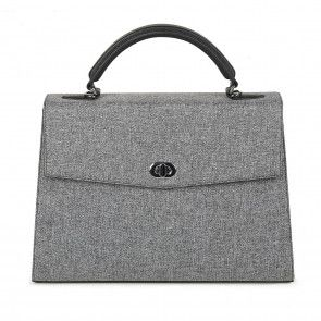 SOCHA Dames Laptoptas 13.3 inch Audrey Tweed Grijs