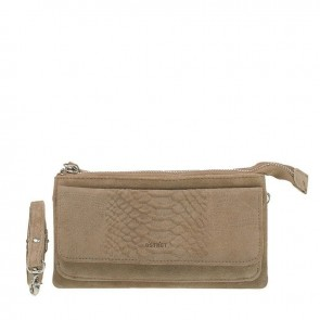 DSTRCT Dames Clutch Portemonnee Portland Road Taupe