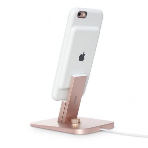 Twelve South HiRise Deluxe Rose Gold for iPhone and iPad achterkant
