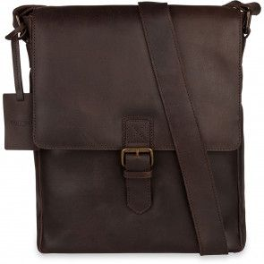 Burkely Vintage Kris Cross Over Shoulderbag Brown