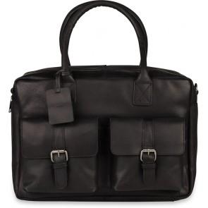 Burkely Finn Vintage Businessbag Classic Black 14 inch