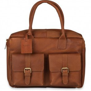 Burkely Finn Vintage Businessbag Classic Cognac 14 inch
