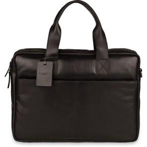 Burkely Jesse Vintage Shoulderbag Black 13 inch - Outlet