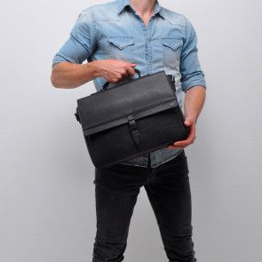 Berba Leren Laptoptas 13 inch 28-300 Zwart Model