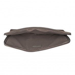 Burkely Antique Avery Laptop Sleeve Grey 13.3 inch Open