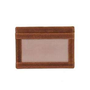 Burkely Card Wallet Cognac Achterkant