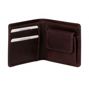 Burkely Dax Portemonnee Billfold Low Brown Open