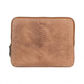 Burkely Eager Els Laptop Sleeve Taupe 13 inch Voorkant
