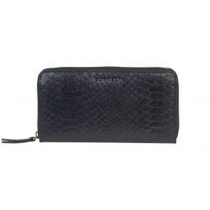Burkely Eager Els Leather Wallet L Black Voorkant
