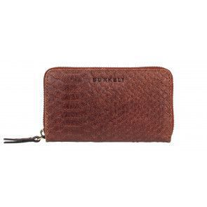 Burkely Eager Els Leather Wallet M Brandy Voorkant