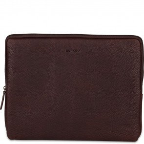 Burkely Antique Avery Laptop Sleeve Bruin 13.3 inch Voorkant