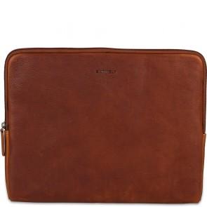 Burkely Antique Avery Laptop Sleeve Cognac 13.3 inch Voorkant