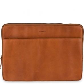 Burkely Leren Laptop Sleeve 15.6 inch Fundamentals Vintage Josh Cognac Voorkant