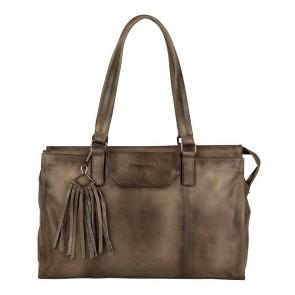 Burkely Noble Nova Handbag S Khaki Voorkant