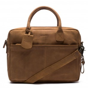 Burkely Filippa Workbag Brown 17.3 inch Voorkant